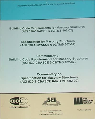 Building Code Requirements for Masonry Structures (ACI 530-02 ...