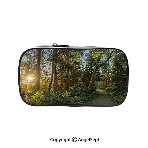 Cute Pencil Case - High Capacity,National Park in