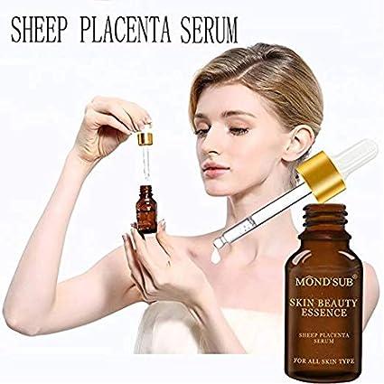 MONDSUB vitamina C, colágeno, ácido hialurónico y oveja Placenta antienvejecimiento, antiarrugas