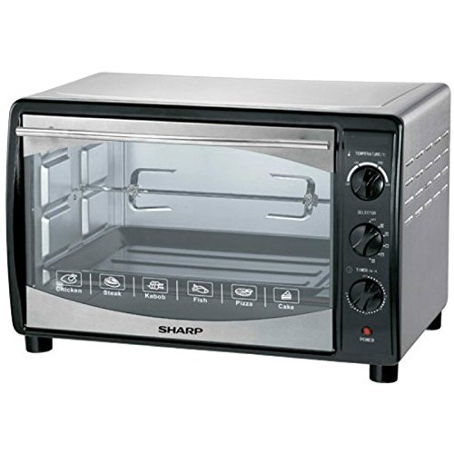 Sharp Eo-42K-3 1800W 42-Liter Electric Toaster Oven with Convection Function, 220V (Non-USA Compliant)
