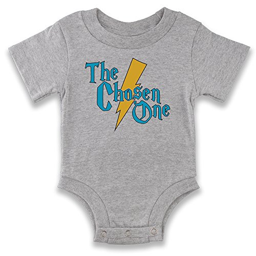 The Chosen One Baby Halloween Costume Gray 18M Infant Bodysuit