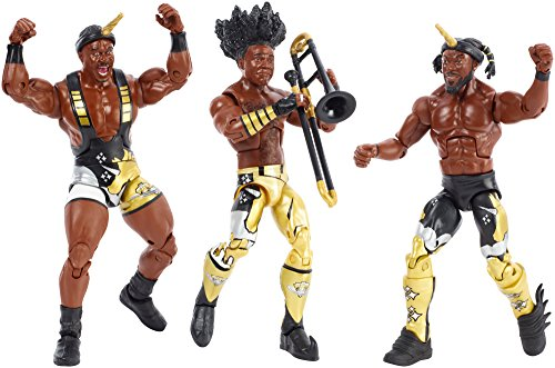 WWE Booty-O's New Day Tag Team Elite Figures ()