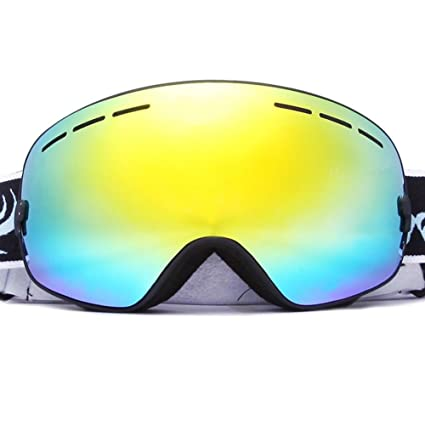 1fb227b0a55 Outdoor Wind Protection Goggles Double-layer Anti-fog Lenses Polarized  Sunglasses Big Spherical Ski