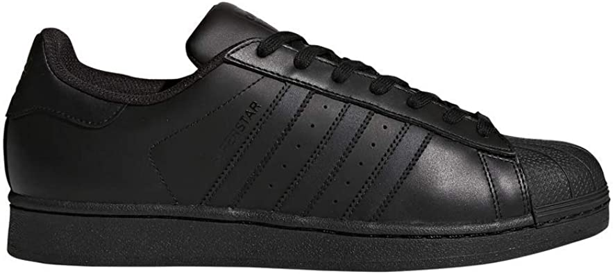 adidas superstar black and brown