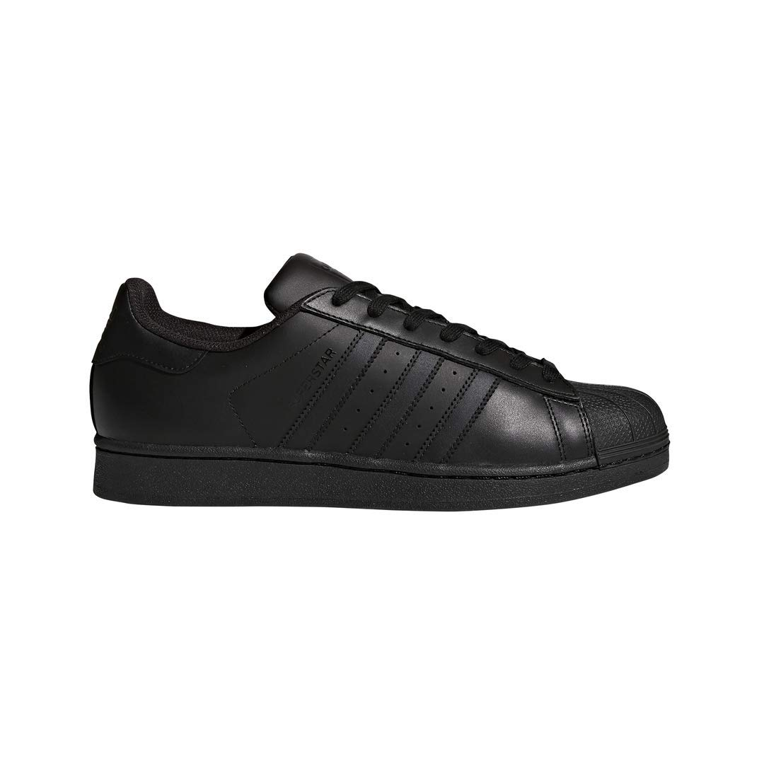 Noir (noir noir noir) adidas Originals Superstar, Baskets Mixte Adulte 42.5 EU