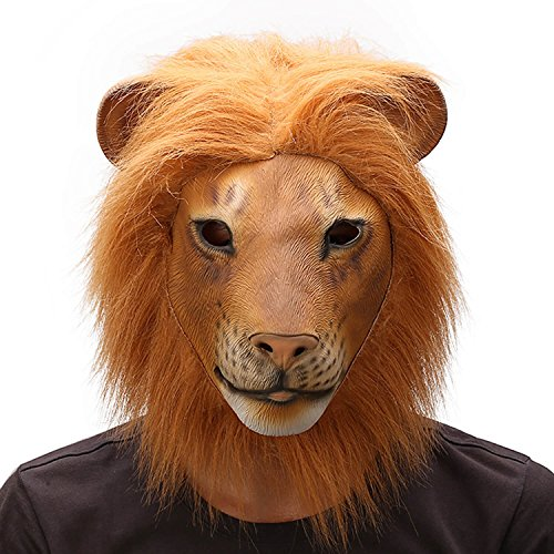 Lion Full Head Mask