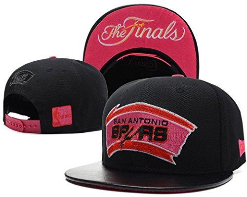 Spurs Snapbacks New Era Hats 2014 NBA Final Caps San Antonio Adjustable Black.