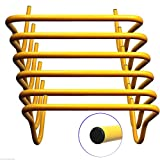Energi 8_blu New BlueDot Trading Speed Training Hurdles (Pack of 6), 12-inch Height, Yellow