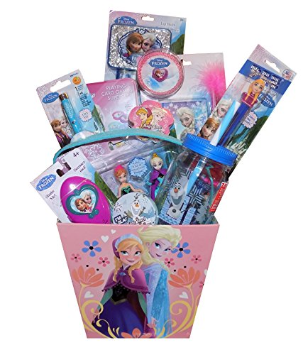 Amazon.com: The Disney Frozen Gift Basket Galore - Perfect for ...