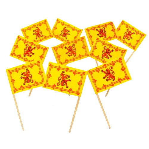 Scotland Scottish Rampant Lion Toothpicks product image