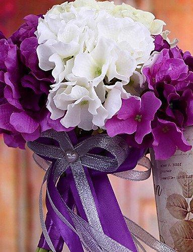 Bouquet Sposa Lilla E Bianco.Matrimonio Sposa Matrimonio Bouquet Con Fiori Seta Colth