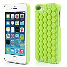 iPhone 6 Funny Case,iAnko Cute Decompression Bubble Wrap Shell Puchi Puchi Silicone Phone Case for Apple iPhone 6 /6s 4.7 Inch(Green)