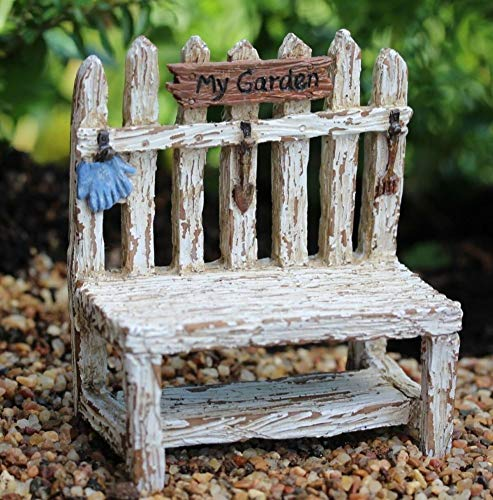 Picket Fence Potting Bench WS 1614 Miniature Fairy Garden (Wings Fence Picket)