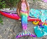 YITU Mermaid Costume Bikini Set Princess Cosplay