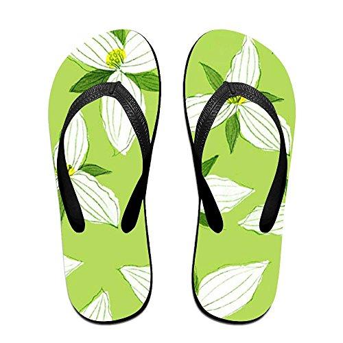 402725892ad10 30%OFF Leaf Floral Men Women Comfort Flat Flip Flops Sandals Beach Slipper