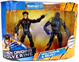 X-Men Origins Wolverine Trilogy Collection 2-Pack Wolverine and Beast