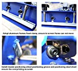 New 3 Color 4 Station Screen Printing Machine