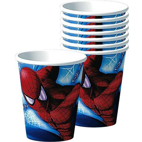 (Amazing Spider-Man Paper Cups,)