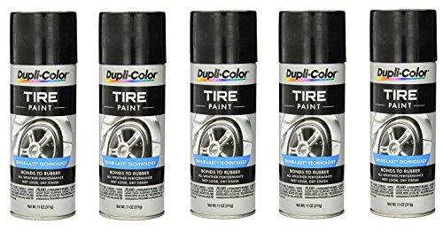 Dupli-Color ® TP101 Tire Paint - 11 fl. oz. (5) by Dupli-Color ® (Image #1)