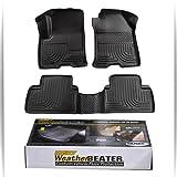 Full Set Husky Liners Weatherbeater All Weather Custom Fit Floor Mat Liner for Dodge RAM Quad Cab