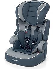 Foppapedretti Babyroad Seggiolino Auto, Gruppo 1/2/3 (9-36kg), per Bambini da 9 mesi fino a 12 Anni circa, Grigio