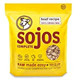 2 PACK (2 lbs x 2) Sojos Complete Raw Natural Dry Dog Food Mix Grain Free Beef