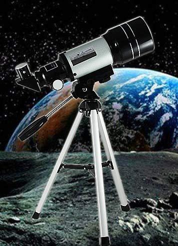 port/átil y de alta definici/ón Telescopio astron/ómico con tr/ípode 150 x 70 mm producto de nivel de entrada para observaci/ón de estrellas por los ni/ños