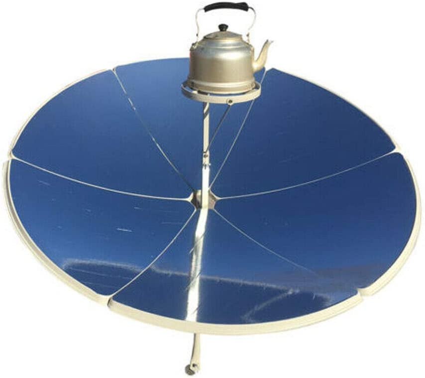 TFCFL 1.5m Diameter 1800W Parabolic Portable Solar Cooker Stoves Camping Outdoor