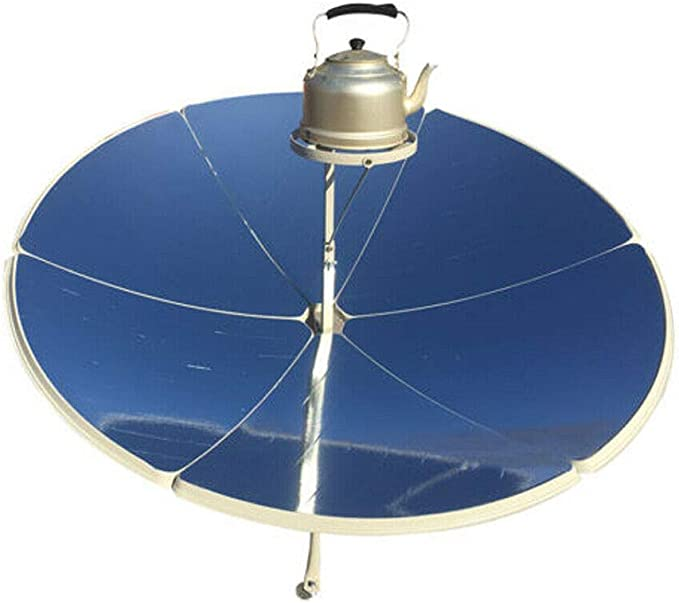 Details about  /Portable Solar Cooker 1500mm 1800W Solar Oven Solar Stove Camping Outdoor Yard