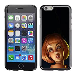 Plastic Shell Protective Case Cover || Apple iPhone 6 Plus 5.5 || 3D Kids Cartoon Woman @XPTECH