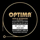 Optima 2028 BAR Electric GOLD Strings, Baritone