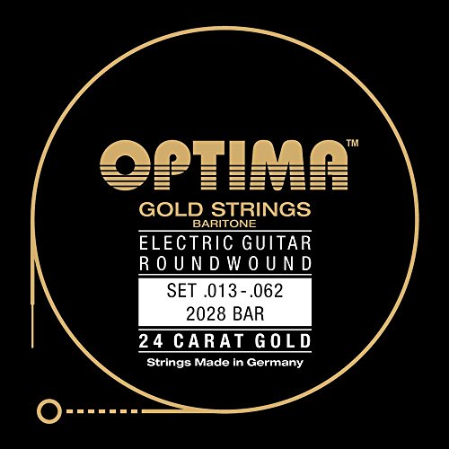 Optima 2028 BAR Electric GOLD Strings, Baritone by Optima