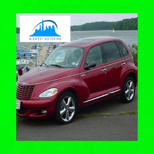 2006-2011 CHRYSLER PT CRUISER CHROME BELTLINE TRIM 10PC 2007 2008 2009 2010 06 07 08 09 10 11 GT TOURING LIMITED CONVERTIBLE