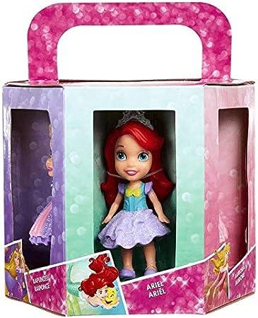 Amazon.es: Disney Princess 3 Inch Mini Doll (Pack of 6): Juguetes ...