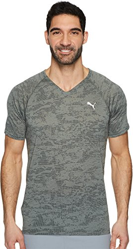 PUMA Men's Dri-Release T-Shirt, Castor Gray Heather, L (Release Dri Shirt T)