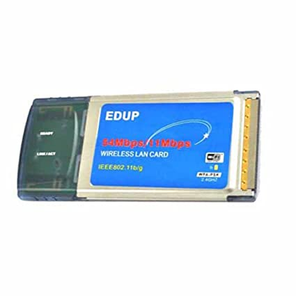 EDUP PCMCIA 802.11BG WIRELESS WIFI CARD TREIBER