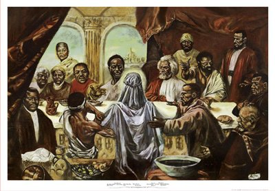 Last Supper * - Poster by Cornell Barnes (38 x 26 1/2)