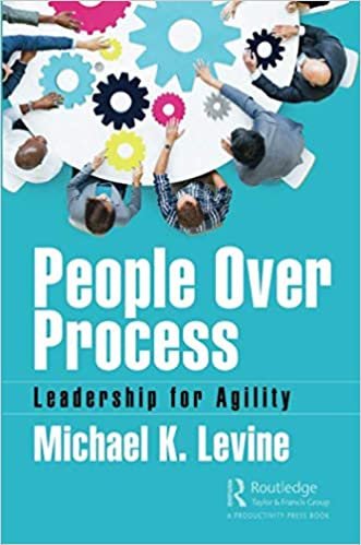 People Over Process: Leadership for Agility 1st Edition Image
