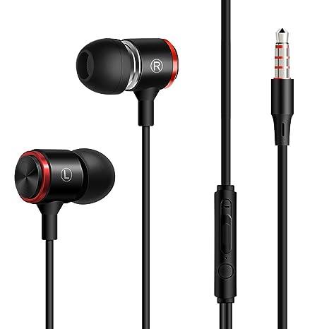 StillCool Auriculares con Cable Auriculares In-Ear, con Micrófono, Cancelación de Ruido Auriculares