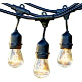 Brightech – Ambience Pro – Outdoor Weatherproof Commercial Grade Lights with Hanging Sockets – WeatherTite Technology...