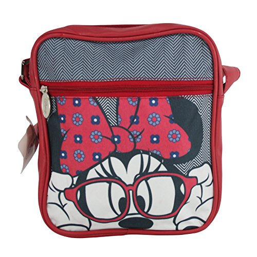 Disney Minnie Bolso al Hombro Bandolera Maletìna Funda para Tablet IPad Kindle