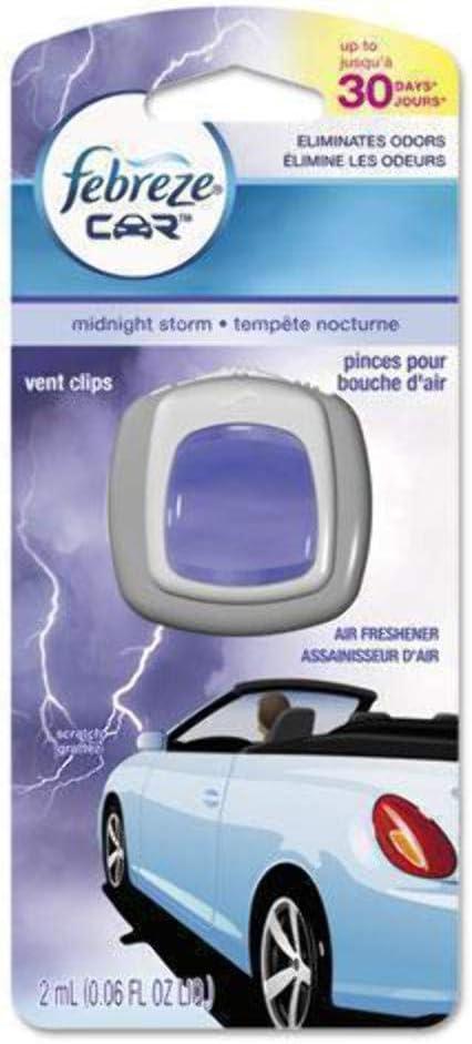 Febreze Midnight Storm Car Vent Clip