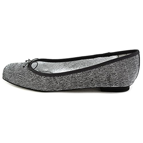 Adrianna Papell Zoe Women Us 10 Silver Flats