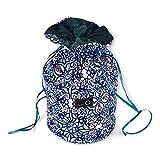 della Q Pippa Yarn Storage and Knitting Dispenser Bag (4.5'' W x 5'' H); 113 Decatur 240-1-113