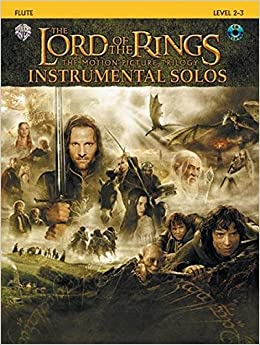 Amazon.com: The Lord of the Rings Instrumental Solos: Flute, Book ...
