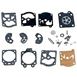 Zeroyoyo K10-WAT D10-WAT K20-WAT Carby Replace Carburetor Repair Kit Diaphragm Gasket