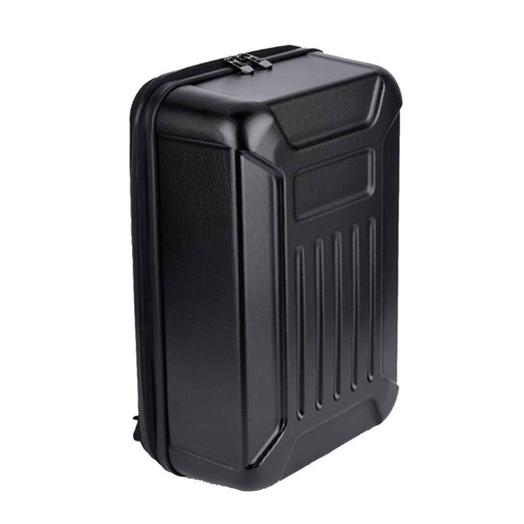 DDLmax Black ABS Hard Shell Backpack Case Bag for Hubsan H501S Quadcopter by DDLmax (Image #2)