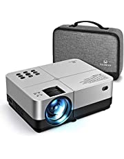 VANKYO LEISURE 420 Mini Projector with 4500 Lux LED Brightness, 1080p Supported, Portable Home Video Projector, Support TV Stick, PS4, Xbox,Laptop and Smart Phone with VGA, AV, USB, 2 HDMI Ports