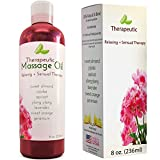 Massage-Therapy-Oil-for-Sensual-Massage-Aromatherapy-Pure-Therapeutic-Massage-Oils-Sweet-Almond-Jojoba-Apricot-Lavender-Natural-Aphrodisiac-with-Anti-Aging-Skin-Care-Benefits-Muscle-Pain