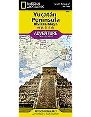Northern Yucatan/Maya Sites, Mexico Adventure Map
